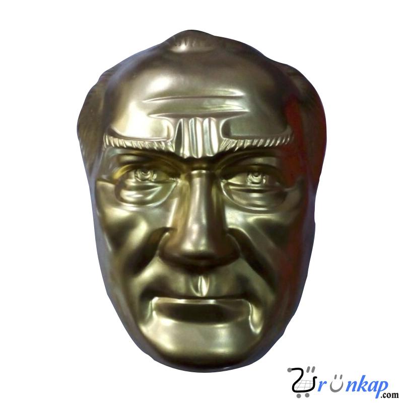 28 cm Fiberglass Atatürk Maskı