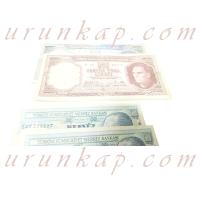 Antika Para Beşyüz Türk Lirası