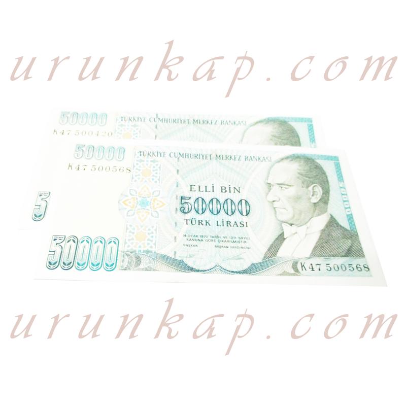 Antika Para Elli Bin Türk Lirası