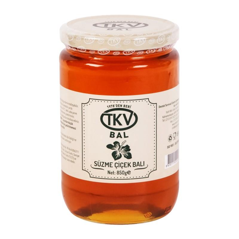 TKV Süzme Çiçek Balı (850gr)