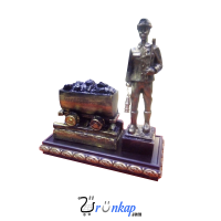 Vagonlu Madenci Heykeli