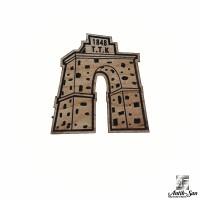 Zonguldak TTK Anıtı Ahşap Magnet
