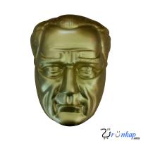 40 cm Alüminyum Atatürk Maskı
