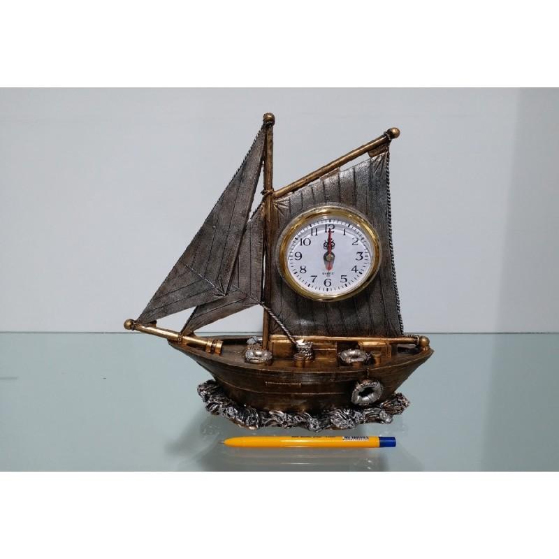 Dekoratif Gemi Masa Üstü Saat