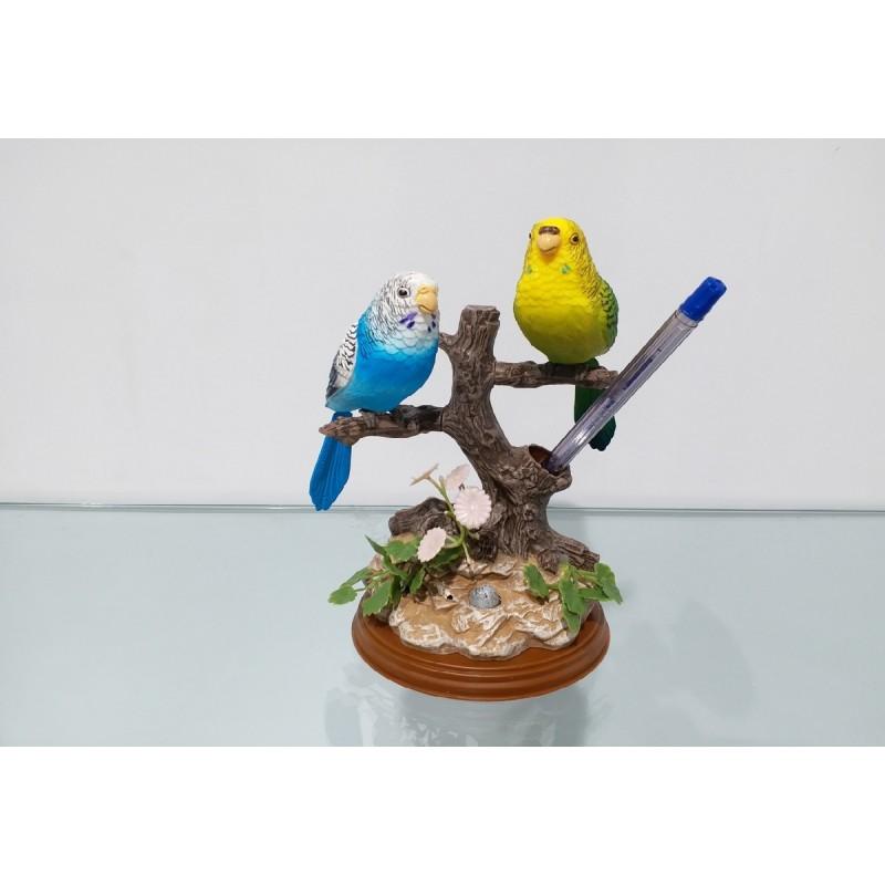 İkili Kuş Biblo Sesli