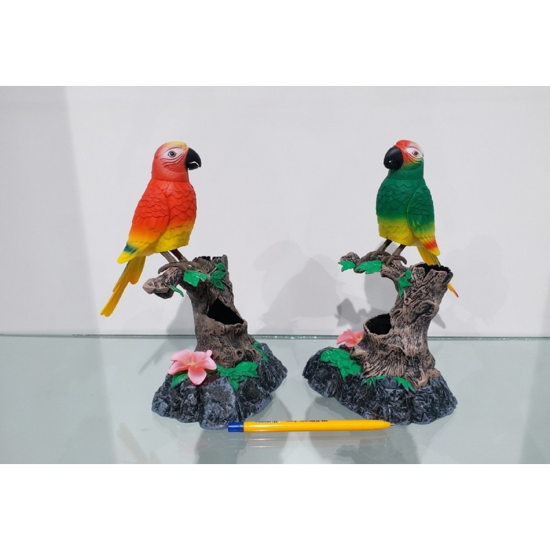 Taklitçi Papağan Biblo