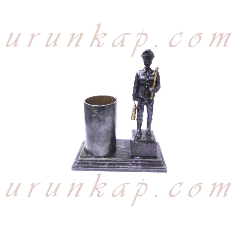 Madenci Heykeli Eskitme Kalemlik