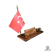 Bayrak ve Top Arabalı Masa İsimliği