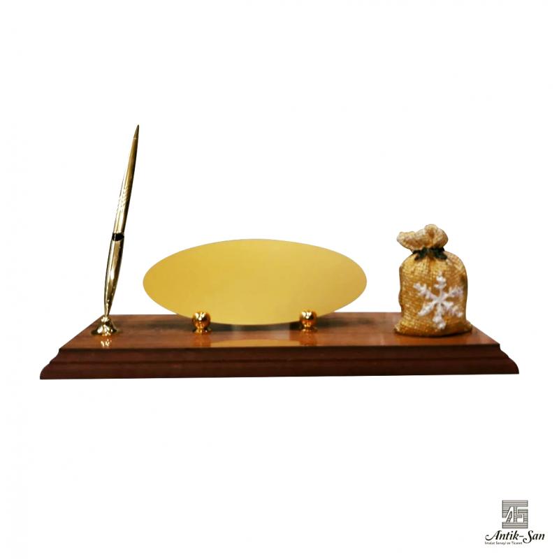 Çuval Biblolu Masa İsimliği