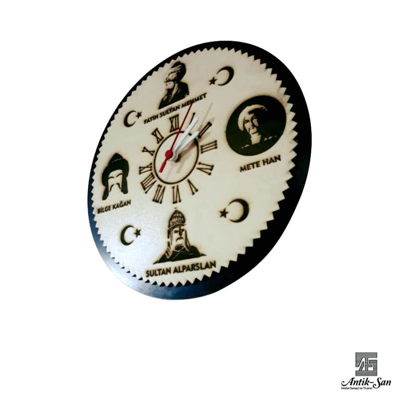 Lazer Kesim Padişah Tasarımlı Saat