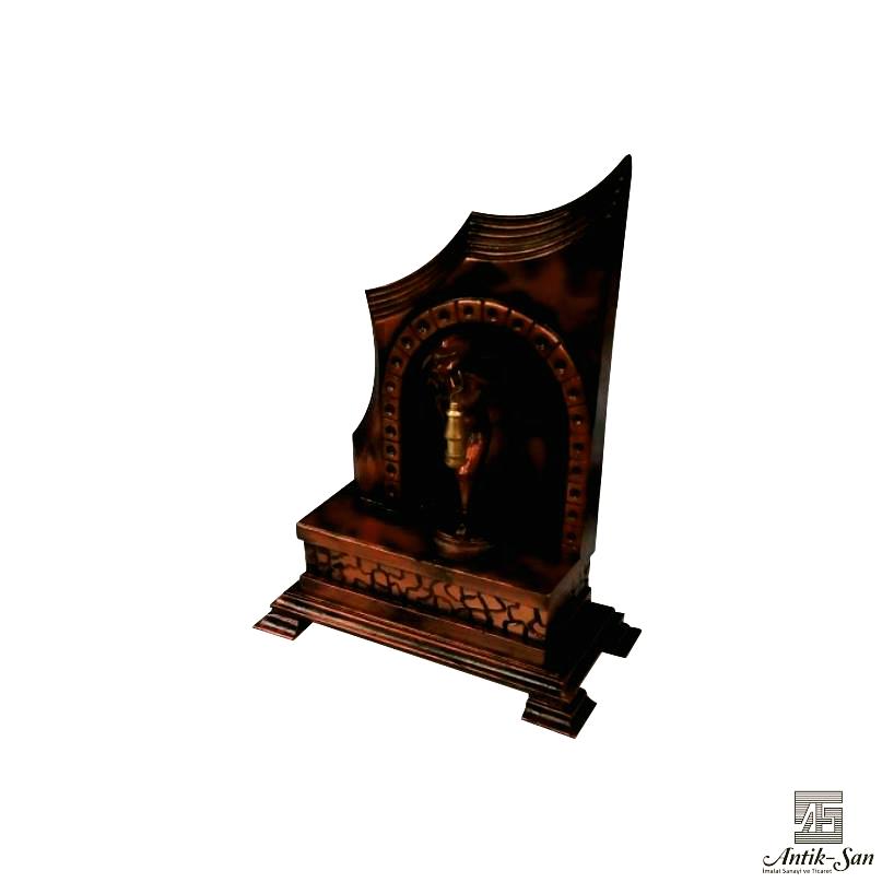 hediyelik madenci heykeli
