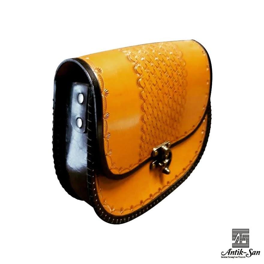 özel tasarım deri kadın çantası