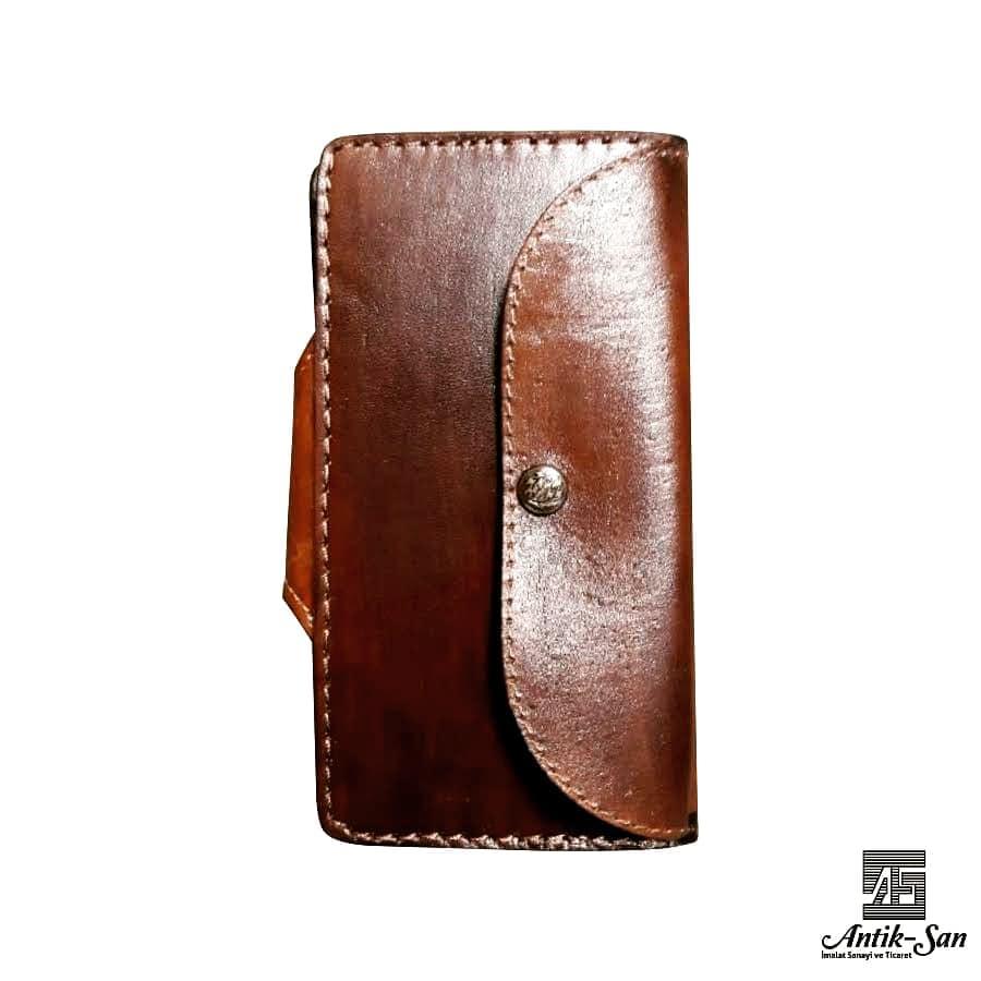 dikdörtgen deri kadın cüzdanı