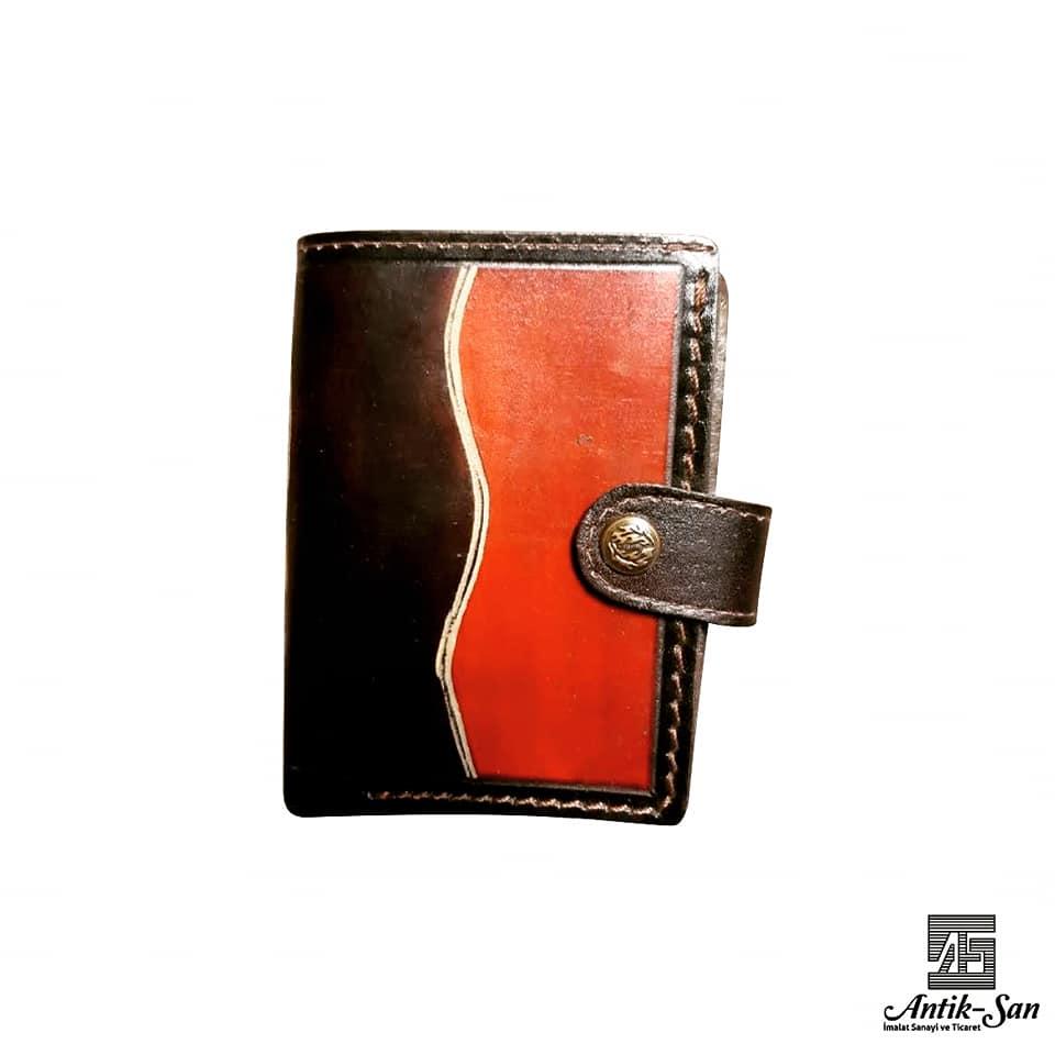 hakiki el yapımı deri cüzdan