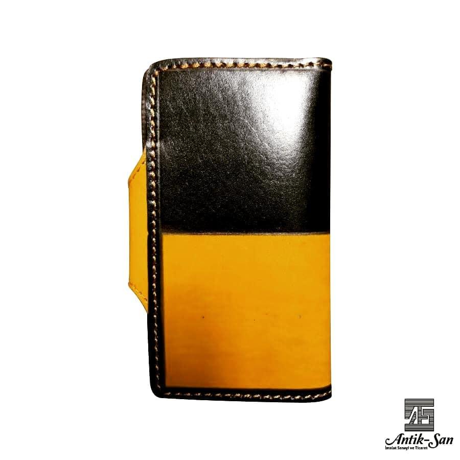 renkli deri cüzdan