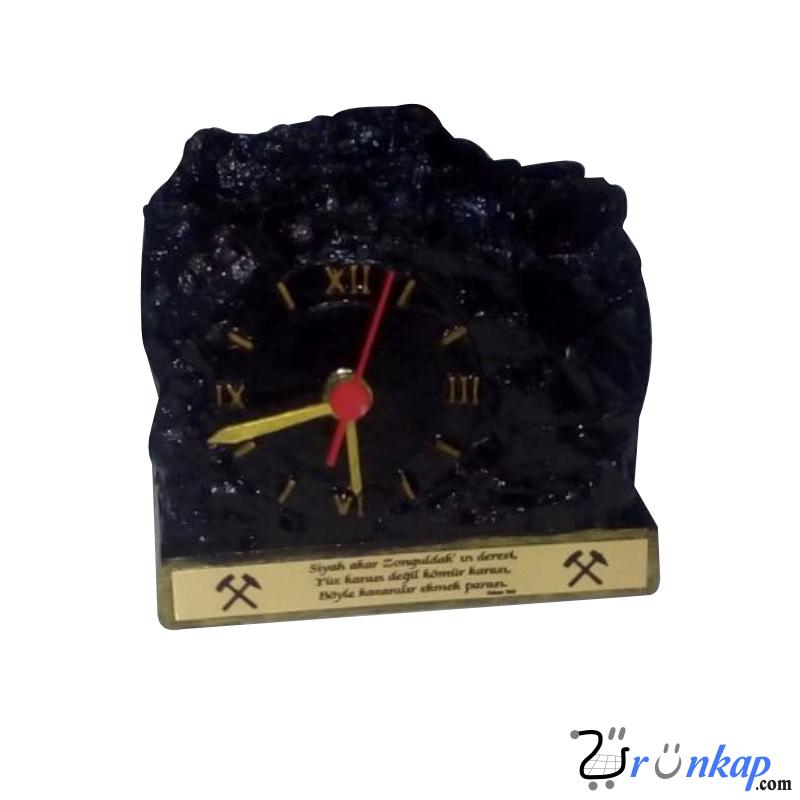 kalemlikli masa üstü kömür saati