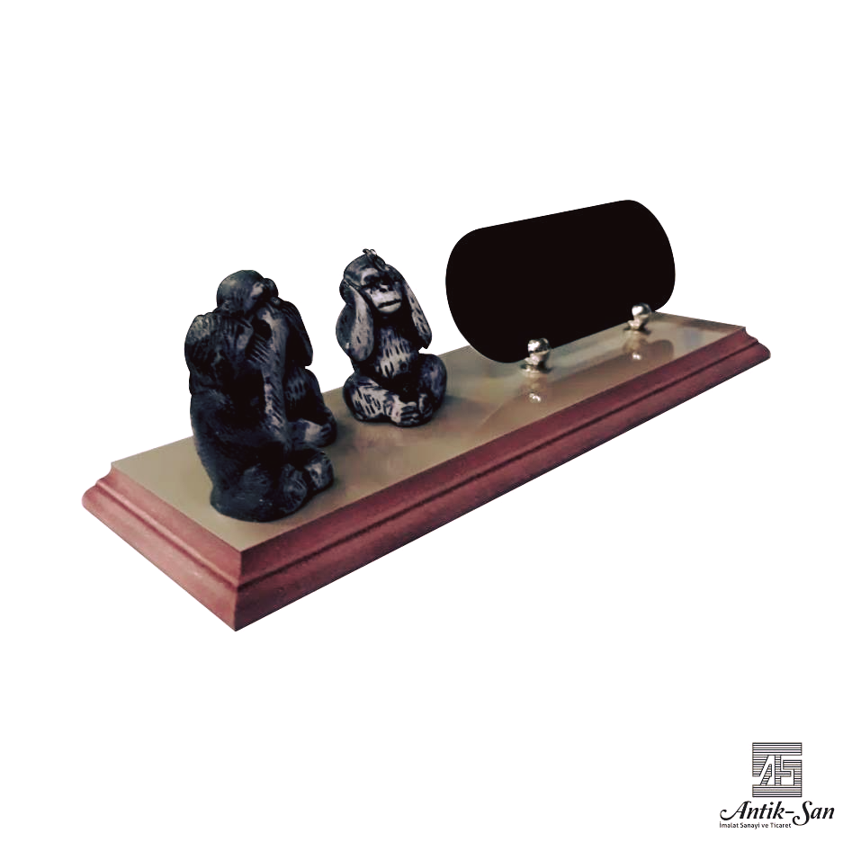 üç maymun masa isimliği