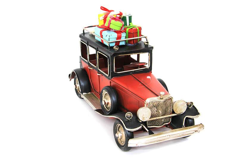 hediyelik metal araba