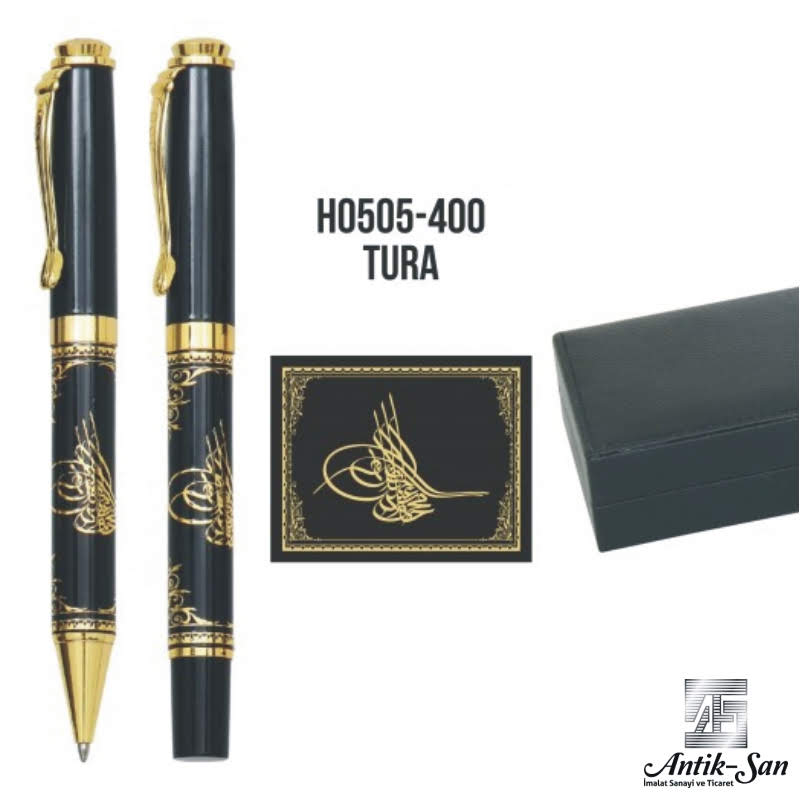 osmanlı tuğralı kalem seti